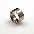 Stainless Steel Broad Band Comfort Ring
