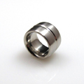 Stainless Steel Comfort Ring with Groove